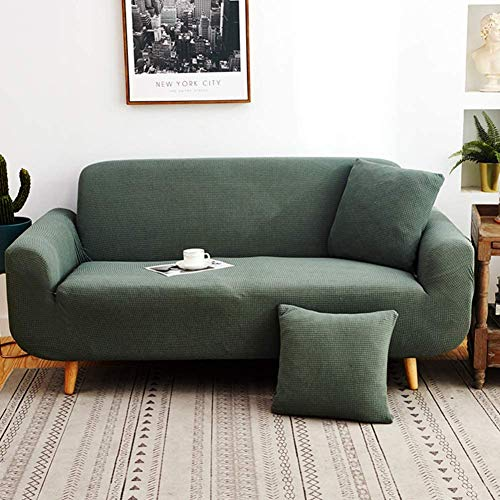 YAOWEI WERTY Estiramiento Sofá Cover, Antideslizante con Todo Incluido sofá Cubierta Cuatro Estaciones Cubierta Universal Completa Muebles Protector para la Tela de Cuero del sofá,1,235cm*300cm