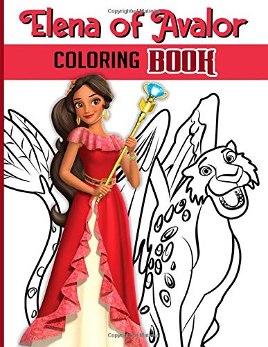 Elena Coloring Book: Elena Nice Coloring Books For Adults, Teenagers! Colouring