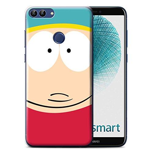 Stuff4 Hülle/Case für Huawei P Smart/Cartman Muster/South Park Inspiriert Komisch Kollektion