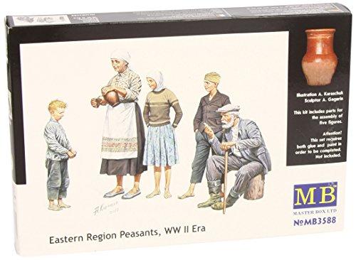 Masterbox 3588 Peasants Eastern Europe 1:35 Plastic Kit