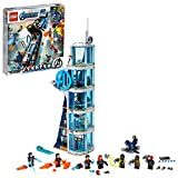 LEGO Marvel Avengers: Avengers Tower Battle 76166 Collectible Building Toy with Action Scenes and Superhero Minifigures; Cool Holiday or Birthday Gift (685 Pieces)