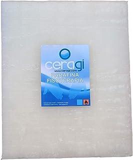CERAGI Parafina Fisioterapia, Tratamiento del Dolor 2,500 KG Punto de fusión: 48º-50º Grados