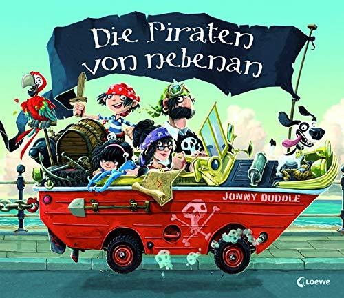 Bilderbuch – Die Piraten von nebenan: die Buchvorlage zur KIKA-Serie