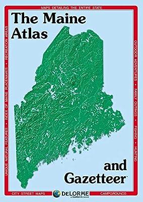 Delorme Maine Atlas & Gazetteer from DeLorme Publishing