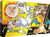 Lively Moments Pokémon - Juego de cartas de sol y luna, colección Reshiram y Glurak-GX, cartas con figura alemana