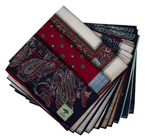 PEROFIL Confezione scatola 12 fazzoletti cm.50x50 articolo VPRT00284-21, Fantasia 202 - Fantasy 202, UNICA - ONE SIZE