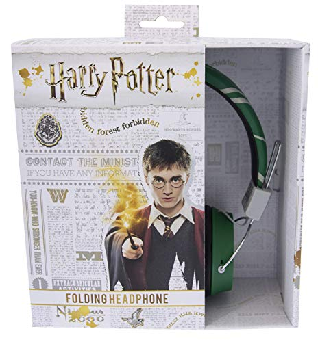 OTL Technologies HP0620 Harry Potter Slytherin Crest Tween Kopfhörer