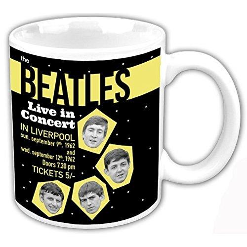 The Beatles 1962 Leef in Liverpool Concert nieuwe officiële Boxed Mok