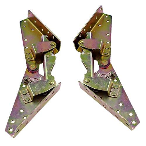 Verstellbar Schlafsofa Füße Scharnier Möbel Beine 3 Positions Verstellbarer Winkel Scharnier