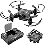 4DRC V2 Mini Drone for Kids and Beginners RC Foldable Nano Pocket Quadcopter Boys and...