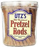 Utz Old Fashioned Pretzel Rods – 27 oz. Barrel – Thick, Crunchy Pretzel Rod, Perfect for Dipping...