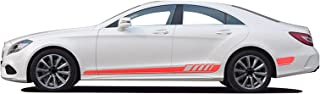 For Mercedes Benz W205 W204 W203 C Class C180 C200 C300 C63 Coupe C43 Accessories Car Side Stickers And Decals Vinyl Sport...