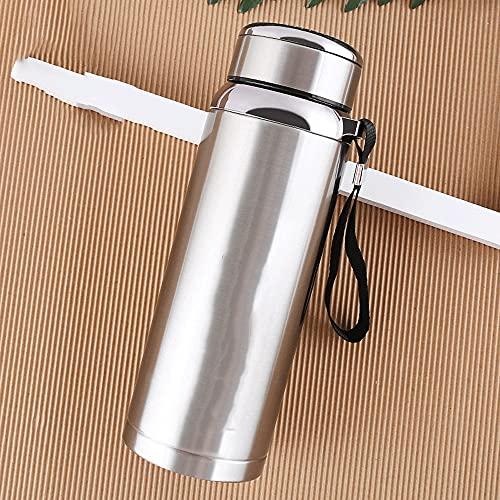 A-myt es Elegante y Sofisticado Nuevos Deportes creativos Frasco de vacío de Gran Capacidad de Acero Inoxidable Taza de té al Aire Libre 800 ml fácil de Cargar (Color : C)