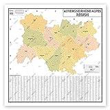 Karte de France Wandale – Verwaltungskarte – Region