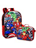 Marvel Avengers 16' School Backpack With Detachable Lunch Box
