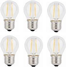 SGJFZD E27 Led Light Bulb G45 DC 3V 100ma 200ma 280ma 380ma Warm White for Solar Power Pendant Light Street Light Solar Ch...