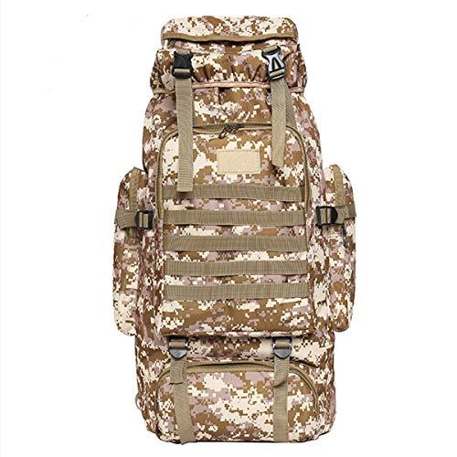 Angle-w Diseño elegante, viaje simple, mochila militar táctica militar de hombro mochila campamento senderismo senderismo bolsa exterior Let us ir más allá (color: 3)