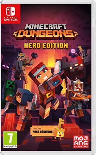 Minecraft Dungeons - Hero Edition (Heroic Pass incluido) - Juego de Nintendo Switch