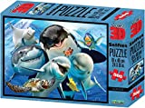 Howard Robinson- Puzzles 3D, Color Blue (10059)