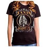 JANIS JOPLIN ジャニスジョプリン (追悼50周年) - LIVE JUNIORS/Tシャツ/レディース 【公式/オフィシャル】