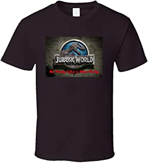 Jurassic World Party - Camiseta unisex con diseño de dinosaurios