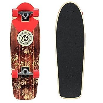 Kryptonics In-Lay Cruiser 28  Skateboard Solid