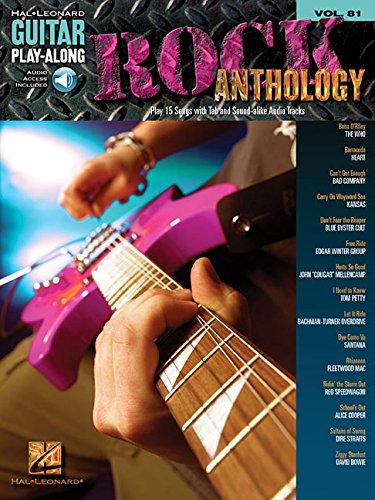 Rock Anthology: Guitar Play-Along Volume 81