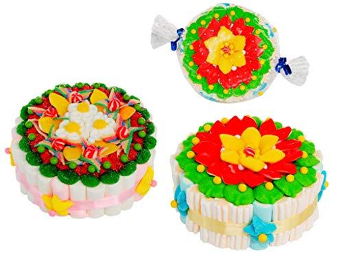 Lote de 2 Tartas Decorativas de Golosinas