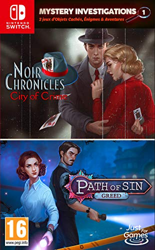 Mystery Investigations Path of Sin: Greed + Noir Chronicles:
