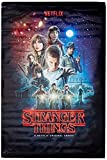 poster stranger things one sheet, multicolore, 91.5 x 61 x 0.03 cm