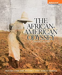 NEW MyHistoryLab -- Standalone Access Card -- forThe African-American Odyssey, Combined Volume (6th Edition)