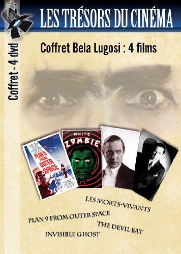 Les Trésors du cinéma : Collection Bela Lugosi - 4 films - Plan 9 from outer space + Les morts-vivants (White Zombie) + The Devil bat + Invisible Ghost / Coffret 4 DVD