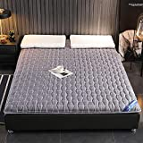 LQ&XL Colchón de futón Tatami japonés,Engrosamiento Colchón,Estudiante Dormitorio Colchoneta de Dormir,Plegable Engrosamiento Futón,Colchón de Piso,F,135x190cm