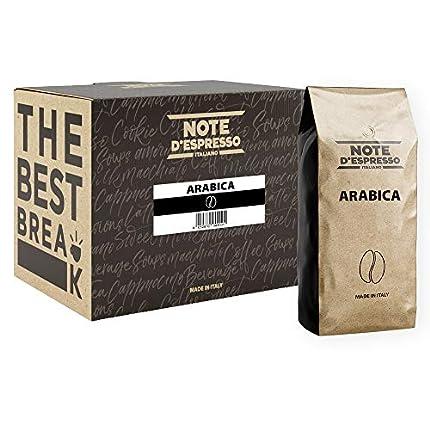 Note d'Espresso Italiano - Café arábica En Grano - 2 x 1000 g, Total: 2000 g