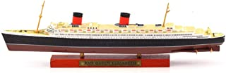 Greensun 1/1250 RMS Queen Elizabeth Cruise Ship Sailboat Model Educational Toys for Kid Collection Gifts