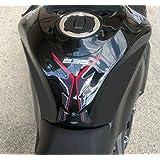 タンクプロテクター3D対応バイク用タンクパッドカワサキZX-6Rニンジャ636