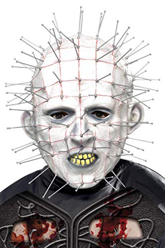 Halloween! Smiffys Maske Pinhead Weiß