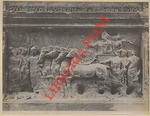 Roma. Arco di Tito, bassorilievi (2) - S.Maria in Trastevwere. Resurrezione dei morti del Bernini.