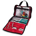First Aid Kit - 200 piece - for Car, Home, Travel, Camping, Office or Sports | Red bag w/reflective cross, fully stocked… 8