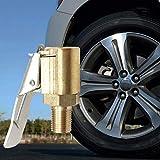 MinLia 1Pc 8mm Car Auto Tyre Wheel Tire Air Chuck Inflator Pump Valve Clip Clamp Connector Adapter