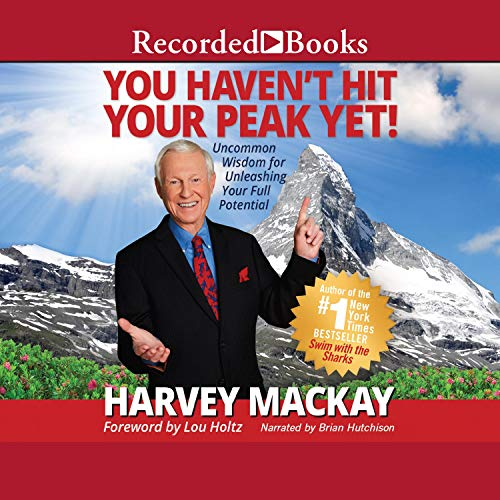 You Haven't Hit Your Peak Yet audiobook cover art