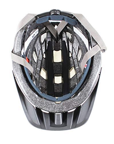 Uvex Erwachsene I-VO CC Fahrradhelm, Black Carbon Look Mat, 52-57 cm - 5