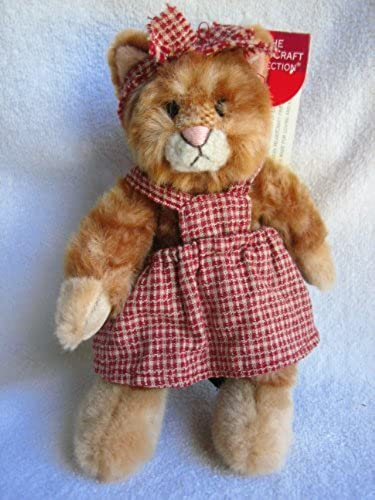 muy popular Kittra - - - 8 Plush Kitten from the Heartcraft Collection by Russ Berrie and Co.  directo de fábrica