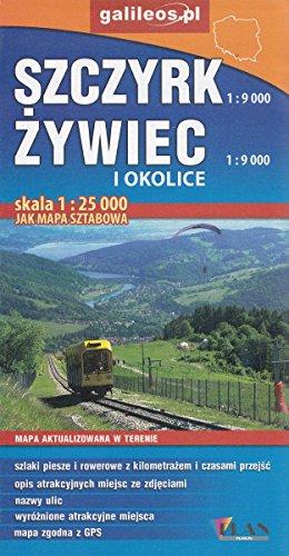 Szczyrk, Żywiec i okolice 1:9 000 / 1:25 000