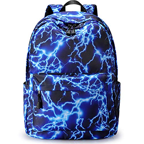 S-ZONE 15.6Inch Starry Lightning Stylish Backpack Travel Rucksack School...