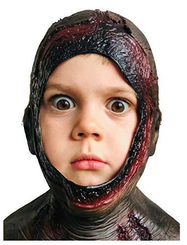 Máscara de goma Johnnies, máscara de capucha podrida, látex, mascarillas de Halloween de miedo, máscaras de terror, disfraces de carnaval de Halloween, viernes, fiesta, asesino