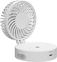 Bureauventilator,USB bevochtigingsventilator Mini Handheld Spray Fan Opvouwbare Desktop Fanfor Home, Kantoor