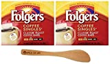 Folgers Coffee Singles Classic Roast-19 Coffee Bags (Pack of 2) - with Spice of Life Stirrer