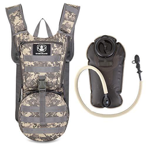 Gonex - Zaino con sacca idrica da 3 l, ideale per escursioni, ciclismo, jogging, passeggiate, arrampicate e alpinismo