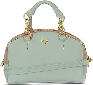 Baggit Women's Bowling Handbag (Blue)
